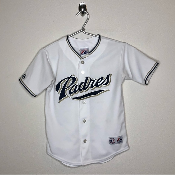 Majestic Other - San Diego Padres White Jersey Small